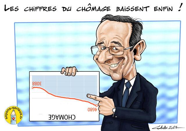Chomage-Baisse-Hollande