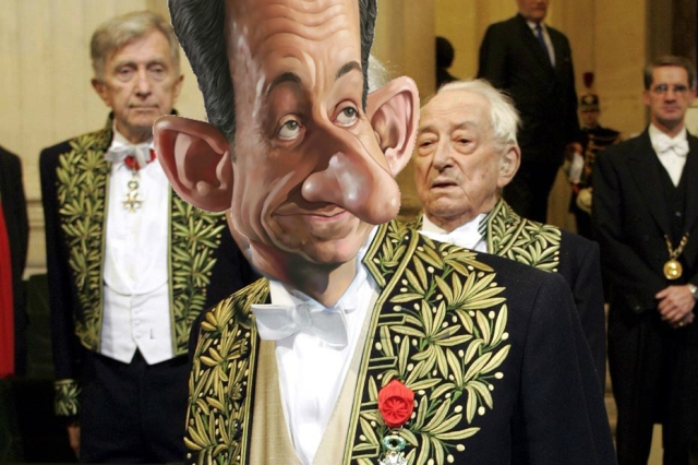 Sarkozy académicien