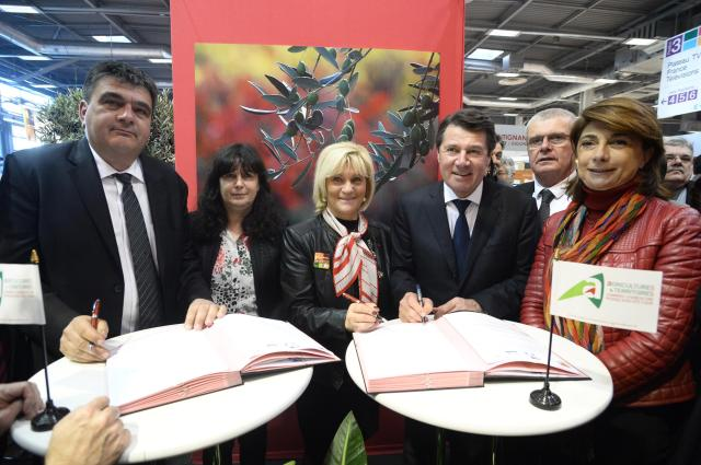 20160203 Signature convention - salon international de l'agriculture