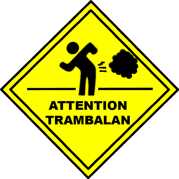 ATTENTION TRAMBALAN