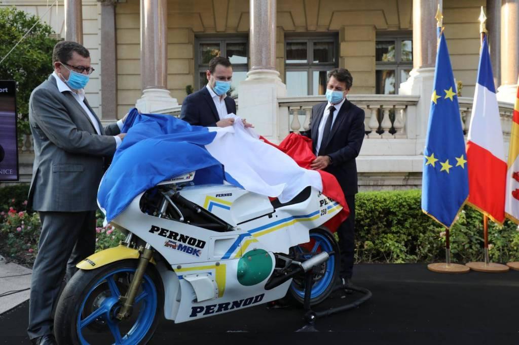 Nice : le vélo du Ficanas au musée du sport !